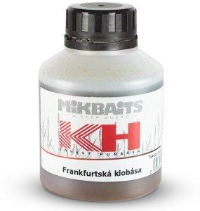 Mikbaits Booster Krvavý Huňáček Frankfurtská Klobása 250 ml