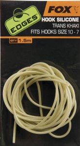 Fox Hadička Edges Hook Silicone Size 10-7 Trans Khaki 1,5 m
