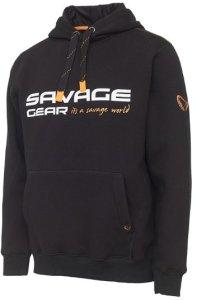 Savage Gear Cosmo Hoodie Black INK - XXL