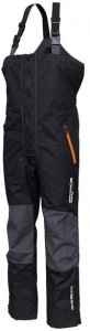 Savage Gear Kalhoty WP Performance Bib&Brace Black/Grey - S